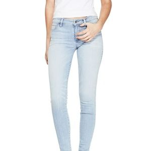 GUESS Womens Light Blue Sexy Curve Skinny Jeans